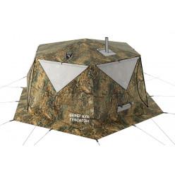 Шестигранная зимняя двухслойная палатка Куб Гексагон Берег NEW