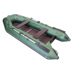 Лодка Арсенал Hunter 3200 эконом плоское дно 6мм зеленая
