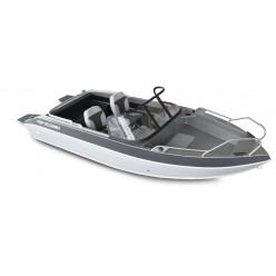 Лодка Волжанка 46 Фиш транец 510мм. с доп.опциями RU-ABS46939L717