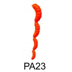 "Приманка плавающая ""Личинка 4-х частная"" 3,7""/9,5 см., 3.0 гр., цвет PA23 (уп/3 шт.)креветка"