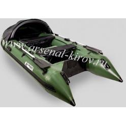 Лодка Gladiator C370AL зелёный