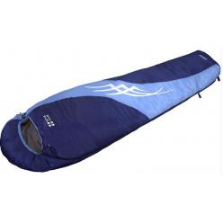 Спальный мешок Сахалин, левый ,син/голуб