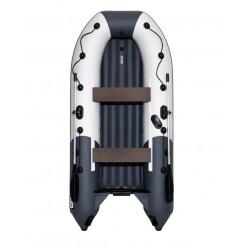 Лодка моторная гребная Ривьера Компакт 3200 НДНД комби светло-серый гр