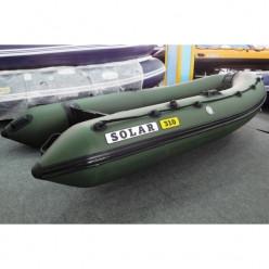 Лодка надувная транцевая Солар Оптима-310 зеленый
