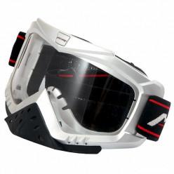 Очки кроссовые MICHIRU G850 серебристые