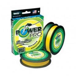 Плетеный шнур Power Pro 275м Hi-Vis Yellow 0.10мм 5кг