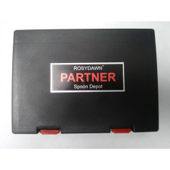 Коробка для блесен Rosy Dawn Partner Spoon Depot RD-028 чёрная