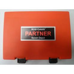 Коробка блес.Rosy Dawn Partner Depot RD-028 красная