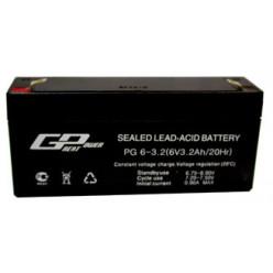 Аккумулятор PG 6-3.2 (6V  3.2Ah)