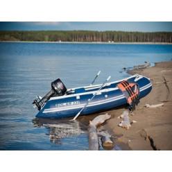 Лодка надувная транцевая Солар Максима-330 синий