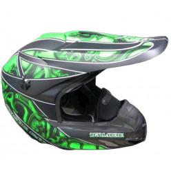 Шлем MX Тим Арктик зеленый M 5242-412