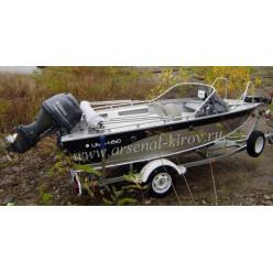 Катер алюминиевый TUNA Boats 450 FC