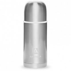 """Термос """"Арктика"""" с узким горлом современный дизайн,нерж.сталь,цв.серебристый 0,5л"""