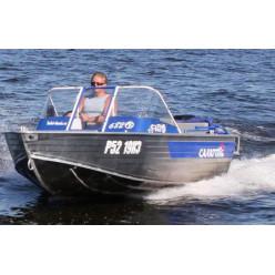 Лодка алюминиевя Салют 480