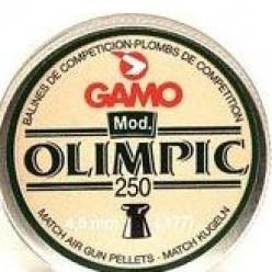 Пули пневматические Gamo Olimpic 4.5мм 250шт