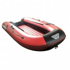 Надувная моторная лодка ФЛАГМАН-300 крас/серая