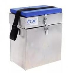 Ящик зимний алюминиевый 2-секционный