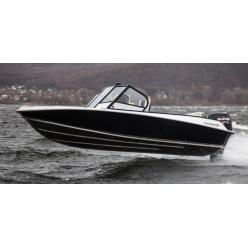 Лодка алюминиевая Салют NewLine 490 №63181101с доп.опциями