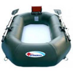Лодка Stingray 200SL зеленая навесн. транец