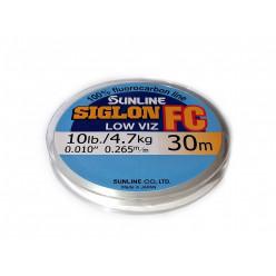 Леска флюрокарбоновая Sunline SIGLON FC 30м 0,180мм