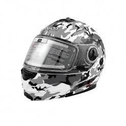 Шлем LEO SNOWHUNTER M13 бел/сер/чёр/кмф/мат L