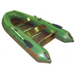 Лодка надувная ПВХ Мнев CatFish 290 оливковый