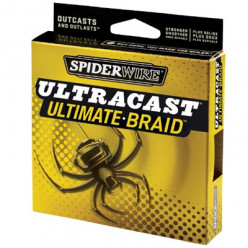 Плетеный шнур Spiderwire UltraCast Ultimate Braid  110м 0.17мм желт