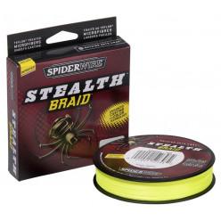 Пл.шнур Spiderwire Stealth 0,25мм 110м желтый