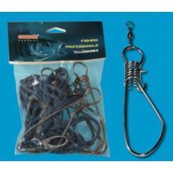 Кукан рыболовный 5 застежек трос CONDOR