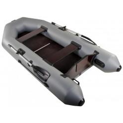 Лодка моторная Аква 3200 С серая с полом