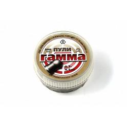 Пули пневматические Гамма 4.5мм 0.7гр 150шт круглая головка