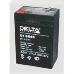 Аккумулятор Delta DT 6045 6V-4.5Ah