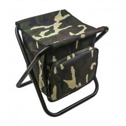 Табурет скл. МАХ средний с сумкой сталь STMS-01