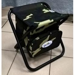 Табурет скл. МАХ большой с сумкой сталь STMS-02