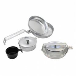 Набор кухонный кемпинговый СЛЕДОПЫТ Персона алюмин. 1 персона