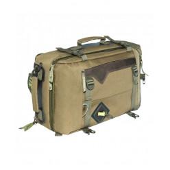 Сумка-рюкзак С-28 с кожанными накладками