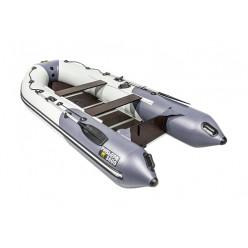 Моторная лодка Ривьера Компакт 3400 СК Комби светло-серый/графит