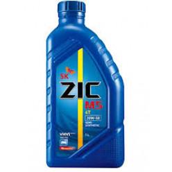 Моторное масло ZIC M5 4T10W-40 полусинтетическое 1л