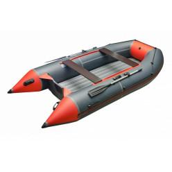 Моторная лодка ПВХ Zefir 3600 XL оранжевый с темно-серым