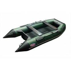 Моторная лодка ПВХ Zefir 3900 зеленый с черным