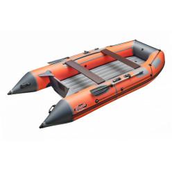 Моторная лодка ПВХ Zefir 3900 оранжевый с темно-серым