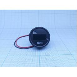 Вольтметр цифровой 2,5-30В с проводом