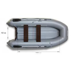 Надувная моторная лодка ФЛАГМАН-320L