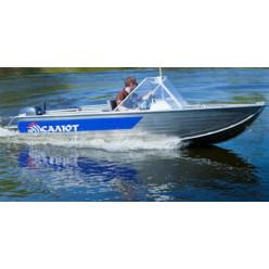 Лодка алюминиевая Салют 430