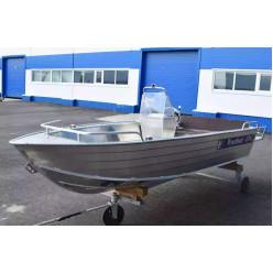 Алюминиевый катер Wyatboat-430 C