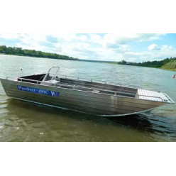 Алюминиевый катер Wyatboat-490 C (спецзаказ)