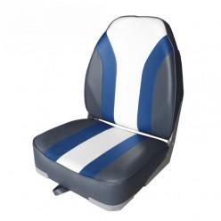 Кресло Highback Rainbow Boat Seat(угольный/син/св.сер) 75107CBW