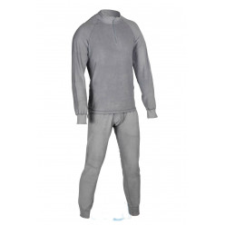 "Термобелье ""Huntsman ZIP"" тк.флис цв.серый р.52-54 (XL)"