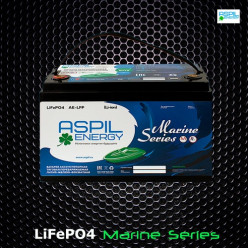 Аккумулятор литий-ионный (LifePO4), тяговый AE-LFP1278 (12V,78Ah)