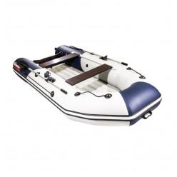 Лодка Таймень NX 3200 НДНД светло-серый/синий